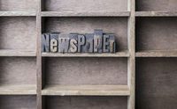 Wooden Letter Newspaper