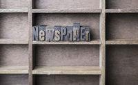 Wooden Letter Newspaper
