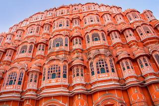 Hawa Mahal - Palace of the Winds in Jaipur, Rajasthan, India.