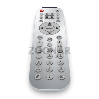 3D rendering TV Remote