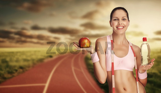 Sexy runner.