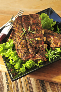 Spare rib dinner