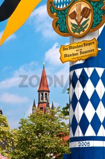Viktualienmarkt München mit Spielzeugmuseum
