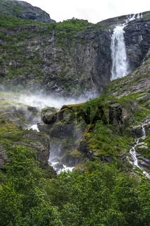 Am Gletscher in Norwegen