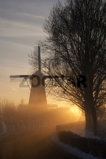 Mill de Hoop in wintermood