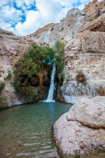 The journey through reserves Ein Gedi