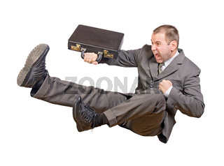 jump businessman