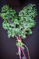A bunch of fresh Kale salad
