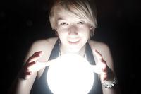 Girl with Magic Ball