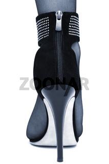 beauty high-heeled shoe