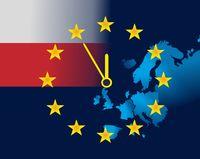 EU and flag of Poland - five minutes to twelve.jpg