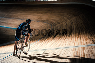 Man on sports track
