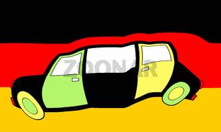 Jamaika Koalition,Schwarz Gelb Grün