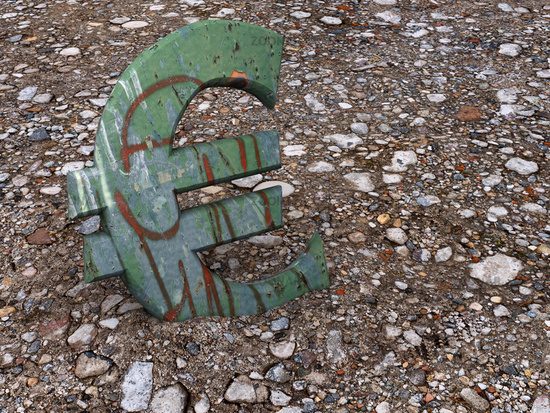 Rusty euro symbol
