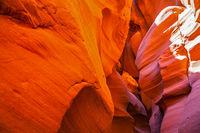 Fantastic slot-canyon Antelope