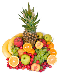 colorful fruits