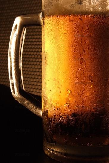 The cold beer