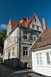 Historic houses in Stavanger, Norway