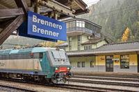 An Italian Multi-Purpose Loco at Brennero Station