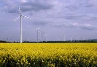 Windkraftanlagen, regenerative Energie