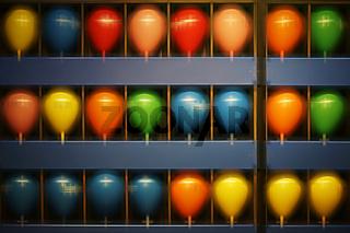 Luftballons schießen