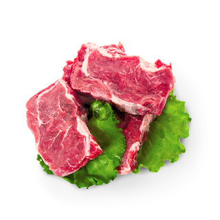 Cuts of beef meat steacks