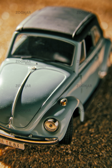Detail of a VW Beetle