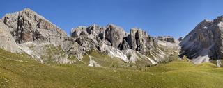Dolomite Alps, panoramic landscape