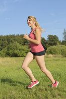 Frau beim Joggen / Woman running
