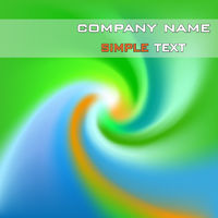 Abstract business background with a simple text