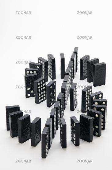 lying dollar of dominoes