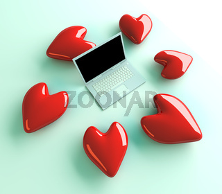 Laptop in Love