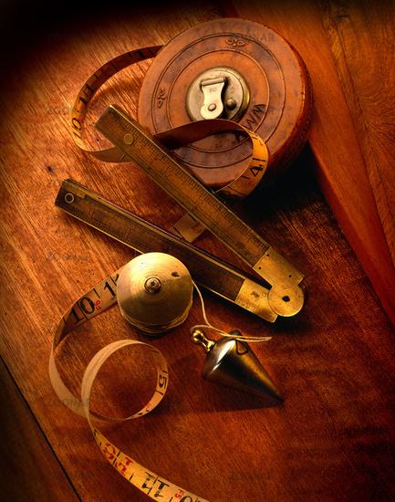 Antique measuring tools