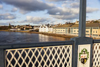 Derry panorama from Craigavon Bridge