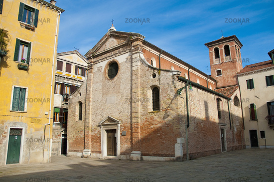 San Giacomo da l Orio church at Venice, Italy