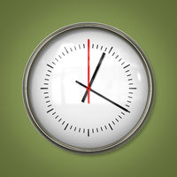 typical simple clock