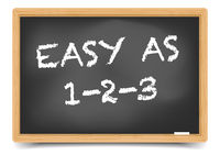 Blackboard Easy As 123