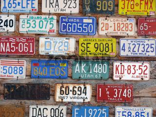 Kennzeichensammlung - Collection of plates