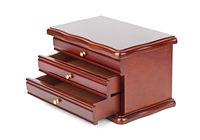 Wooden casket box