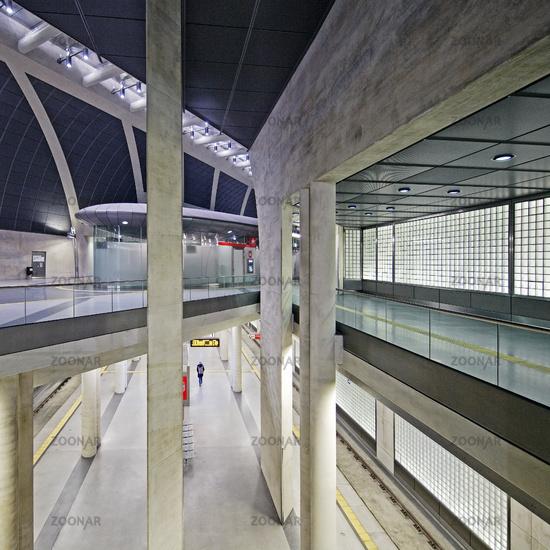 metro station Heumarkt, Cologne, Rhineland, North Rhine-Westphalia, Germany, Europe