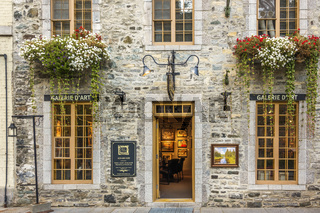 Art Shop, Lower Old Town, Quebec City, Canada