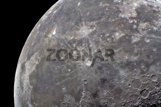 Mond - moon with crater copernicus