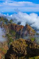 Hiking Pico do Arierio and Pico Ruivo - Madeira Portugal
