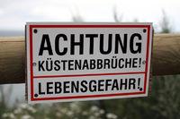 Küstenabbrüche auf Rügen