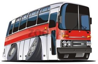 catoon bus