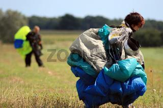 Fallschirmsprung,Parachute jump.jpg