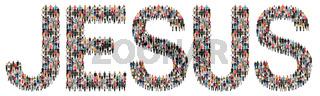 Jesus Gott Glaube glauben Religion Hoffnung Kirche Leute Menschen People Gruppe Menschengruppe