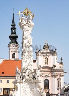 Baroque buildings in Sankt Pölten