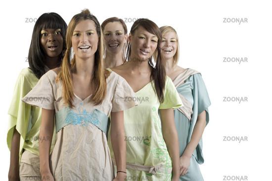 Ethnic model mix