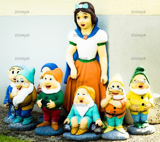 Seven Dwarfs and a Lady